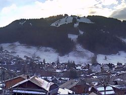 Webcam Vue panoramique village et Pléney