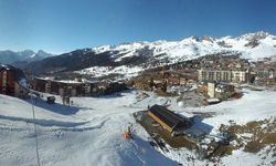Webcam webcam Front de neige Longchamp 1650m.
