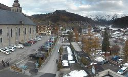 Webcam Le Grand-Bornand Village (1000 m)