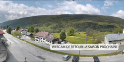Webcam Lelex Coeur de Station Monts Jura