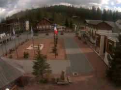 Webcam Place du village Valberg