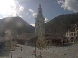 Webcam Place du village La Clusaz