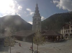 Webcam Place du village La Clusaz