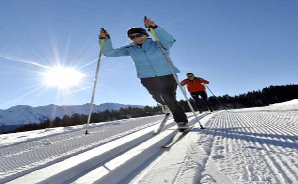 Formiguères - ski de fond