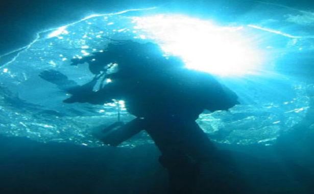 Formiguères - Plongée sous glace
