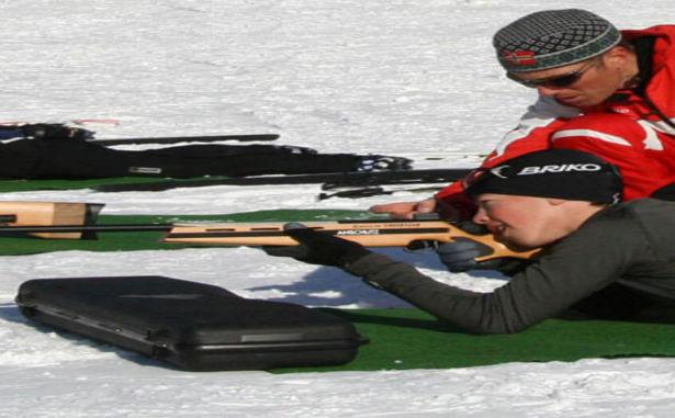 Formiguères - biathlon laser