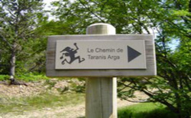 La Croix de Bauzon - Le Chemin de Taranis Arga