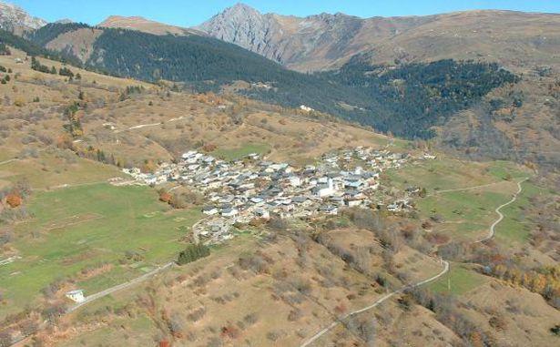 Granier - Vue sur le village