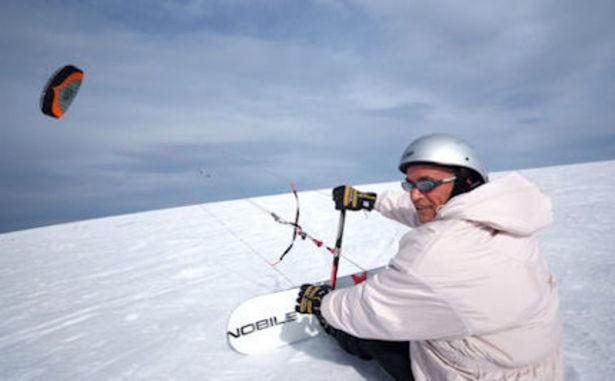 Le Brabant - Snowkite