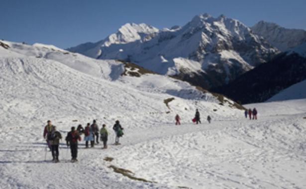 Val Louron - Raquettes à neige