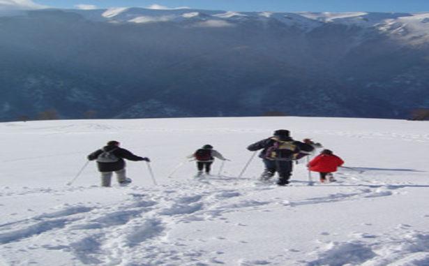 Superbagnères - Raquettes à neige
