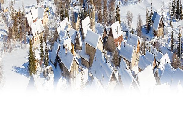 Névache - Village hiver