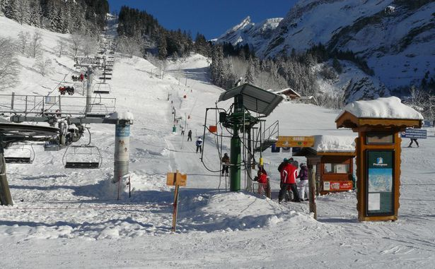 Pralognan-la-Vanoise - Télésiège