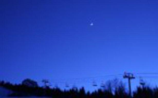 La Sambuy - Télésiège nuit