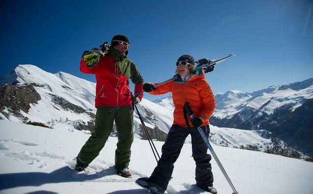 Saint-Léger-Les-Mélèzes - Ski