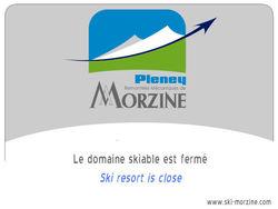 Webcam Morzine_plateau de Nyon - 1430 m.