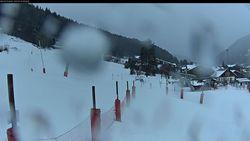 Webcam Morzine_front de neige du Pléney - 1000 m.