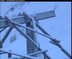 Webcam Arrivée TS des Abris Auron