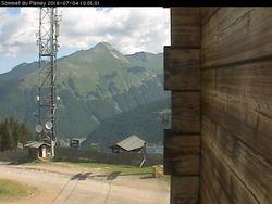 Webcam Morzine_sommet du Pléney - 1500 m.