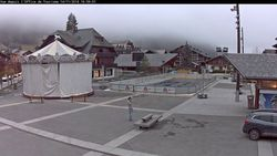 Webcam Morzine_Centre village _ 1000m.