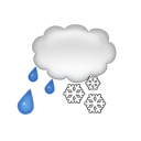 bulletin meteo L'Alpe-d'huez : Couvert et neige fondue