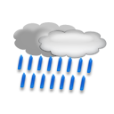 bulletin meteo St-Lary-Soulan : Pluie