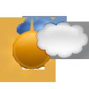 bulletin meteo Sauze / Supersauze : Légèrement nuageux