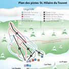St-Hilaire-du-Touvet plan des pistes