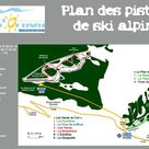 Col d'Ornon plan des pistes