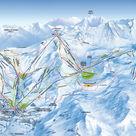 Orcières Merlette 1850 plan des pistes