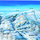 Valberg plan des pistes