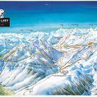 St-Lary-Soulan plan des pistes