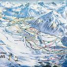 Bessans-Val-d'Arc plan des pistes