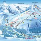 Bonneval-sur-Arc plan des pistes