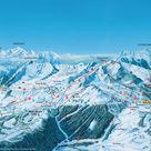 Le Praz-de-Lys / Sommand plan des pistes