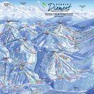 Praz-sur-Arly plan des pistes