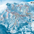 St-Gervais-Mont-blanc plan des pistes
