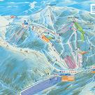 La Bresse / Hohneck plan des pistes